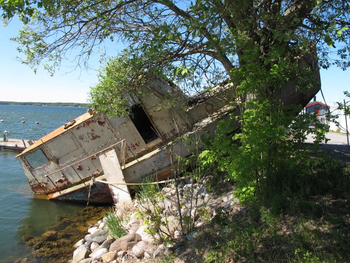 消失的沉船