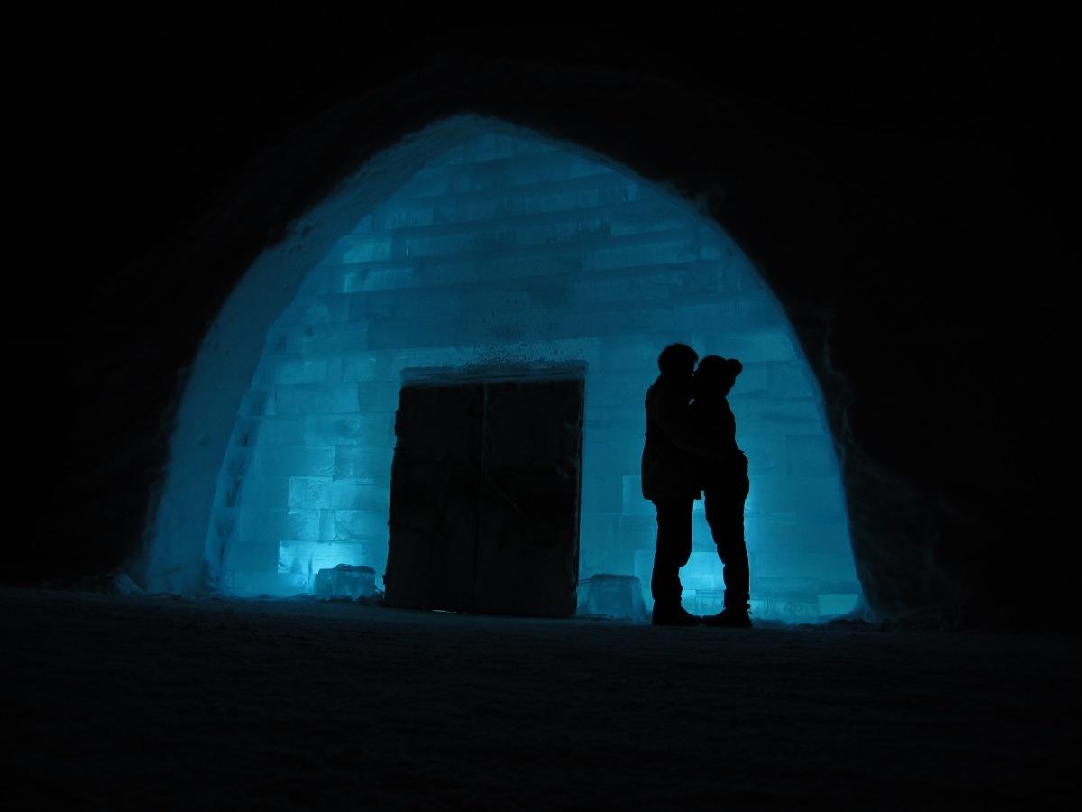 尋找北極光之旅 – 冰酒店