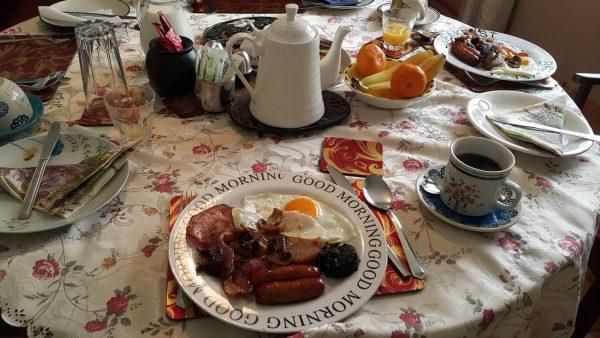 B&B提供愛爾蘭傳統早餐
