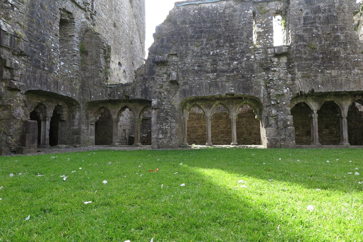 愛爾蘭修道院遺積