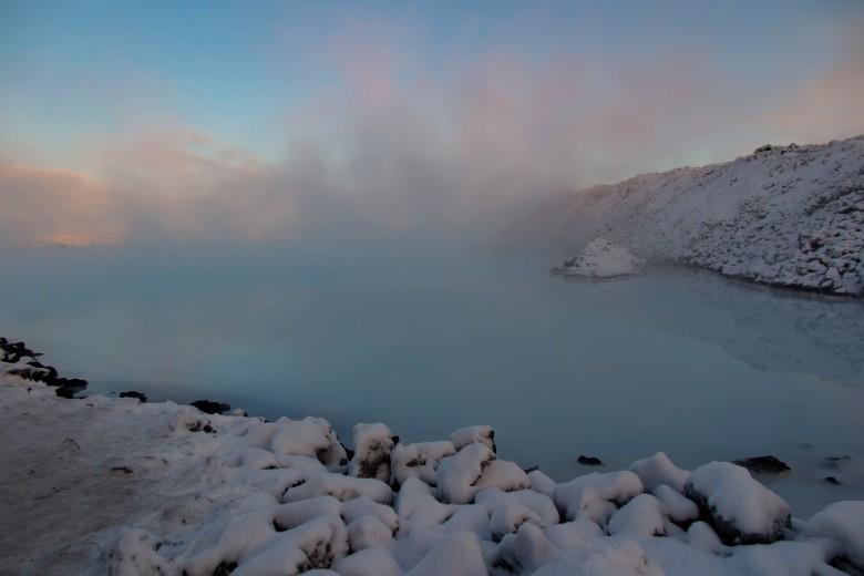 冰島藍溫泉