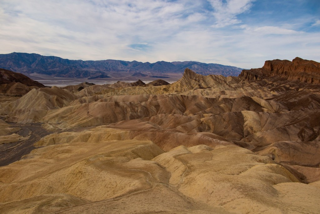 Zabriskie Point 景觀