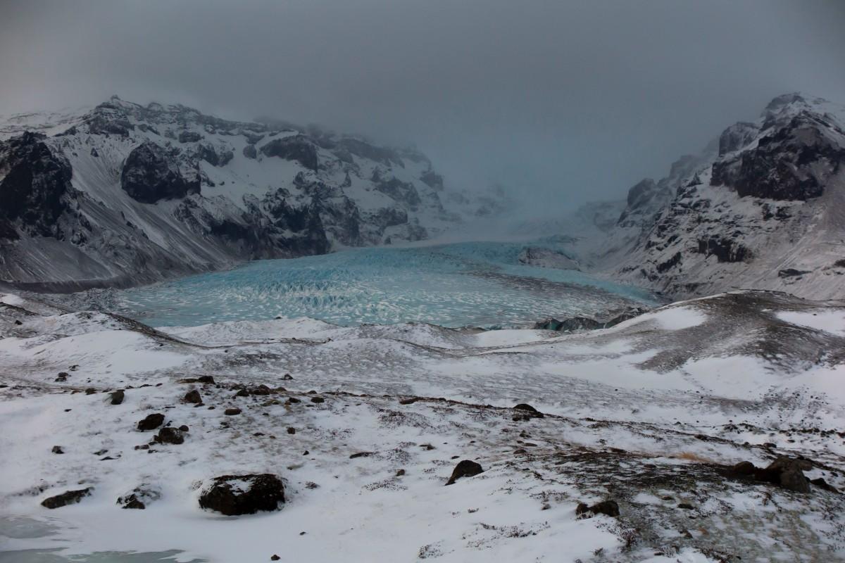 自駕風雪中 – 1月的冰島