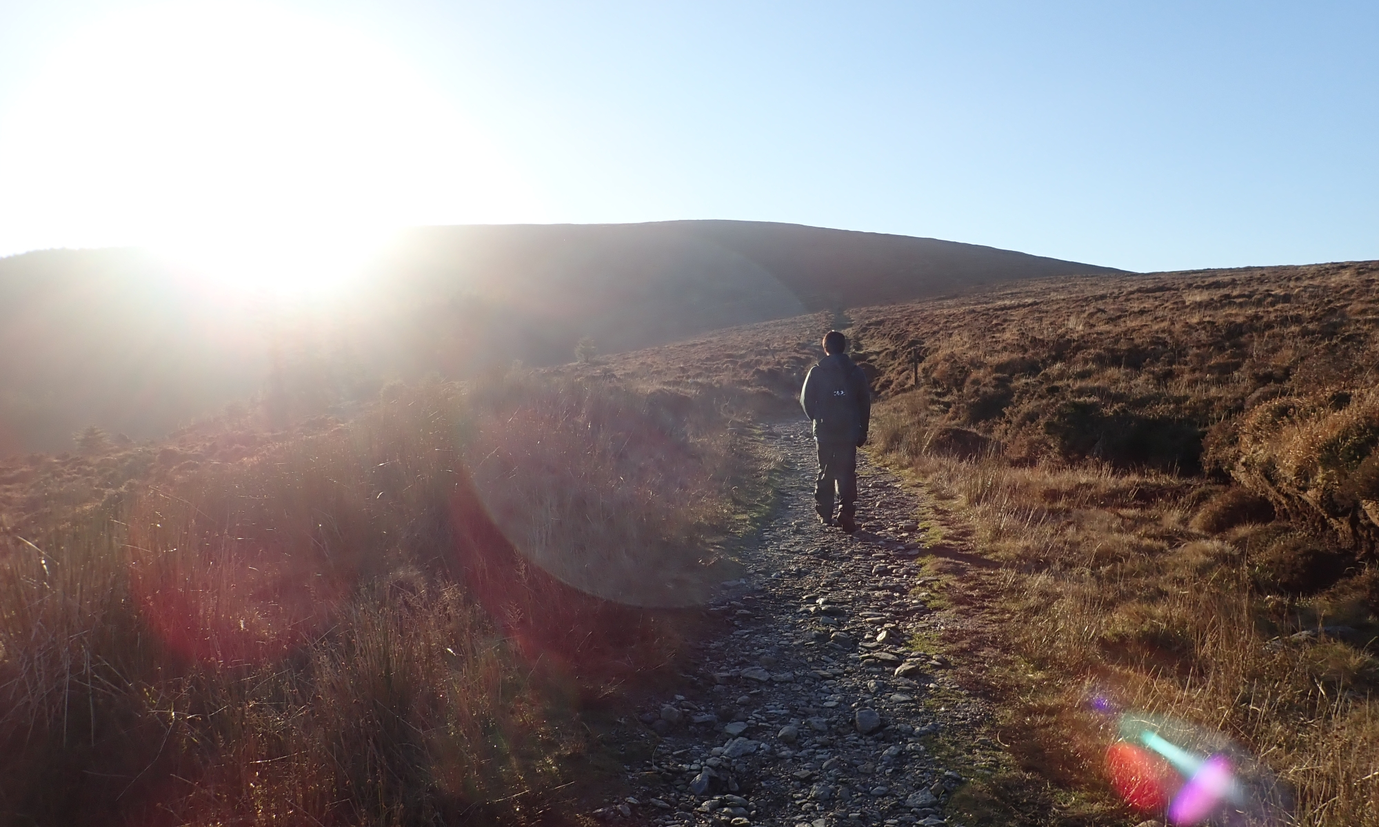 Hiking at Wicklow