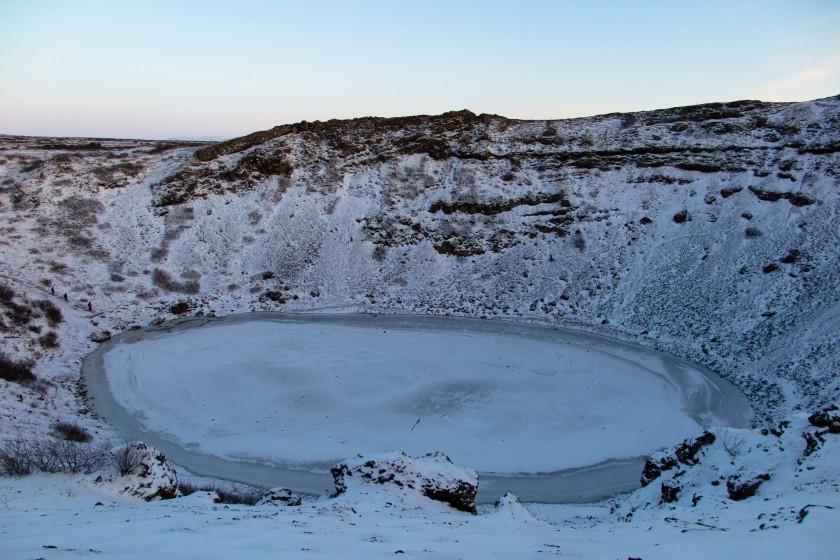 火山口Kerið